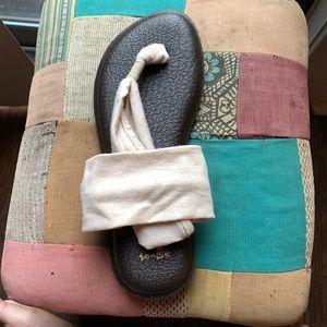 Sanuk Yoga Metallic Sling Sandals